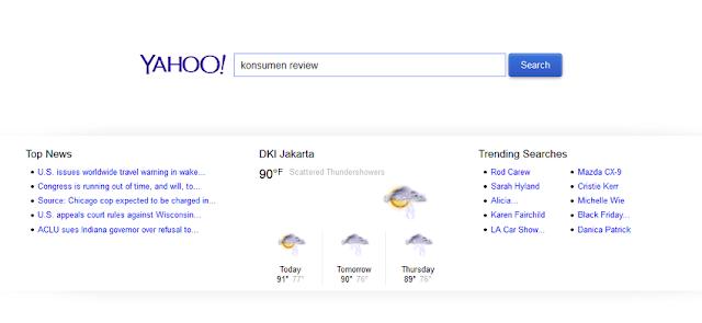 situs mesin pencari yahoo search