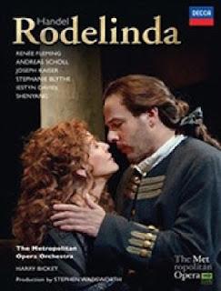 FRESCHE NOTE – DVD: RODELINDA, HÄNDEL: Fleming • Scholl • Kaiser • Blythe • Davies • Shenyang • Metropolitan Opera Orchestra • Bicket
