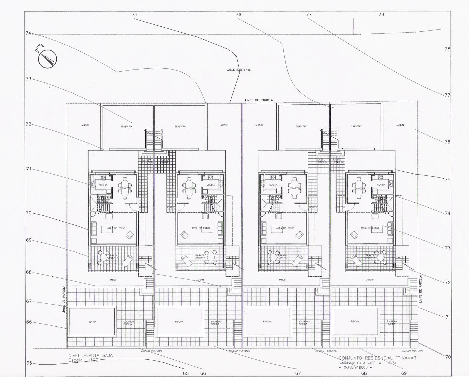 Arquitecta Miriam Di Leo Proyecto B Sico De 4 Viviendas