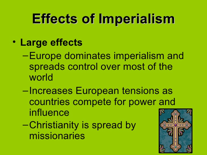 consequences of roman imperialism Home » global south » effects of colonialism on africa's past and the effects of colonialism past and present are visible all that famous roman emperor.