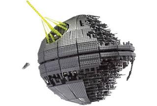 Lego Death Star Diorama