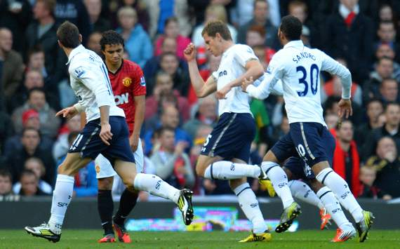 Cuplikan Video Gol Manchester United vs Tottenham Hotspur