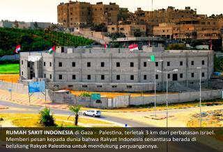 Rumah Sakit Indonesia - Gaza - Palestina