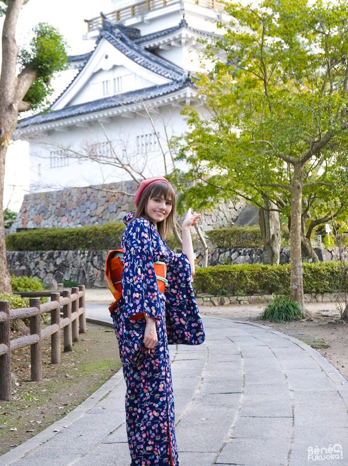 Béné no Fukuoka - Kimono