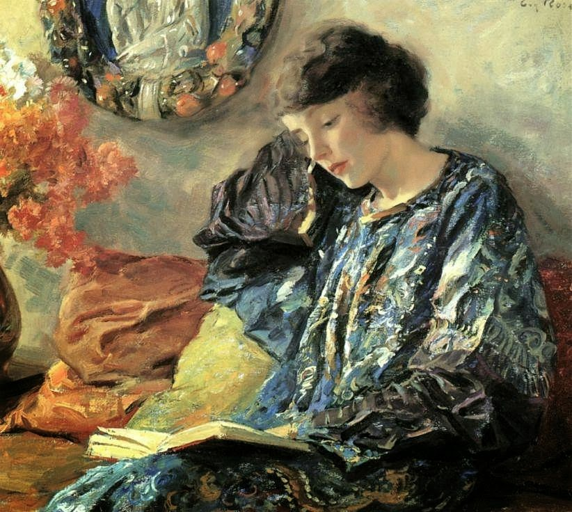 Guy Rose - Marguerite reading