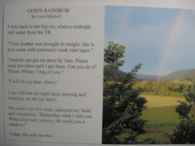 GOD'S RAINBOW (My 100-word story)
