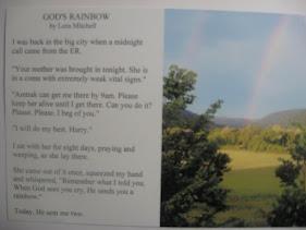 GOD'S RAINBOW (My 100-word story)
