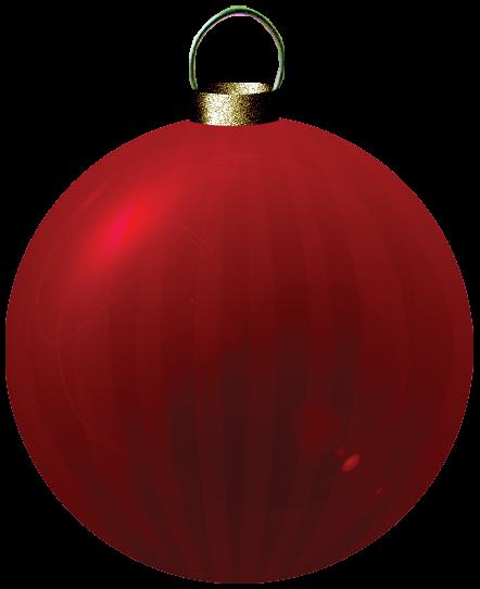 bola para arbol de navidad rojo