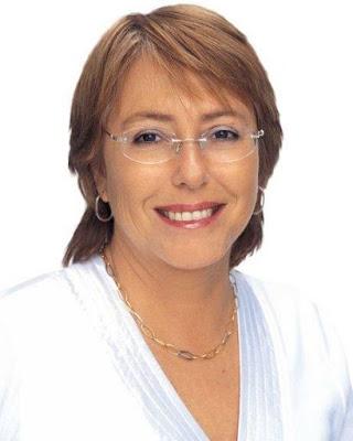 Foto de Michelle Bachelet mas joven
