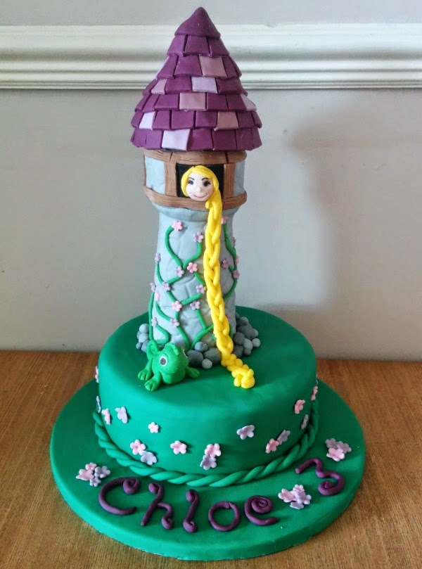 My Little Kitchen Rapunzel Birthday Cake