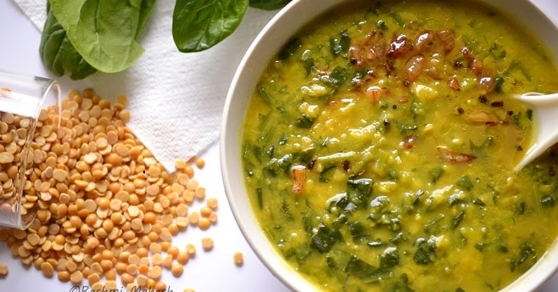 Easy Cook: Palak Dal/Spinach wt Lentils...
