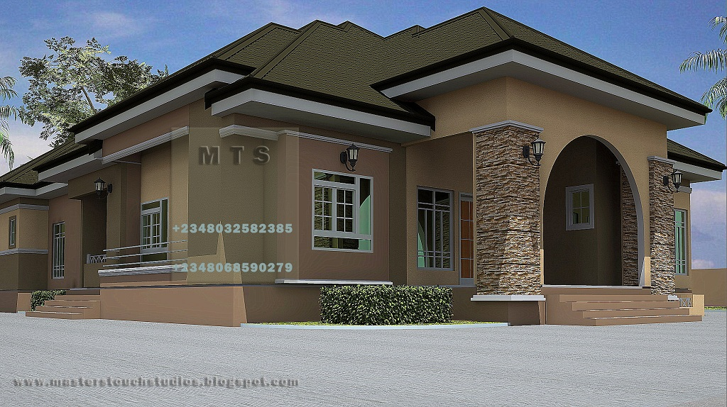 4 Bedroom Bungalow - Modern and contemporary Nigerian ...