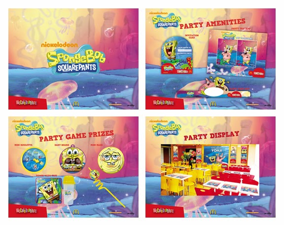 McDonalds Spongebob Party Theme