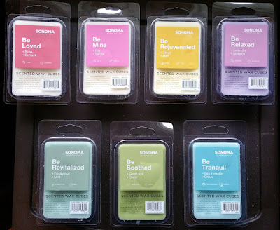 Sonoma Wax Melts from Kohl's - Spring 2016 Scents