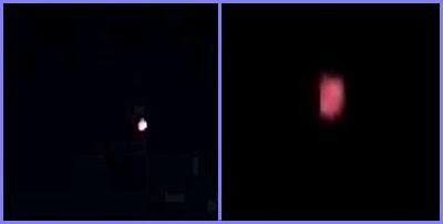 Strange lights over Oxford, UK 8-18-13