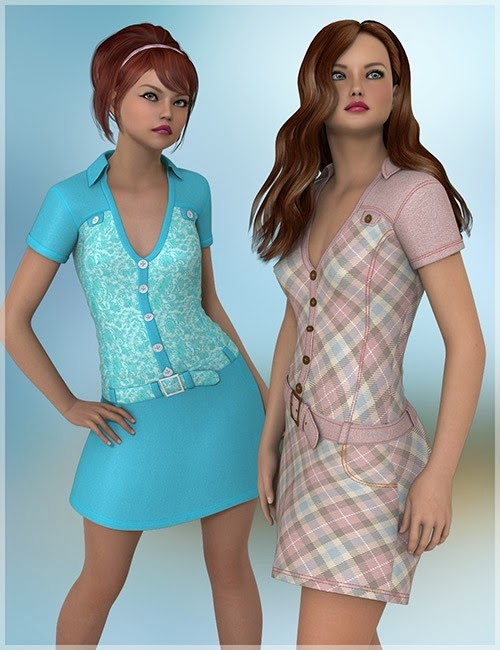 DAZ 3D - In Style Pour Taylor robe