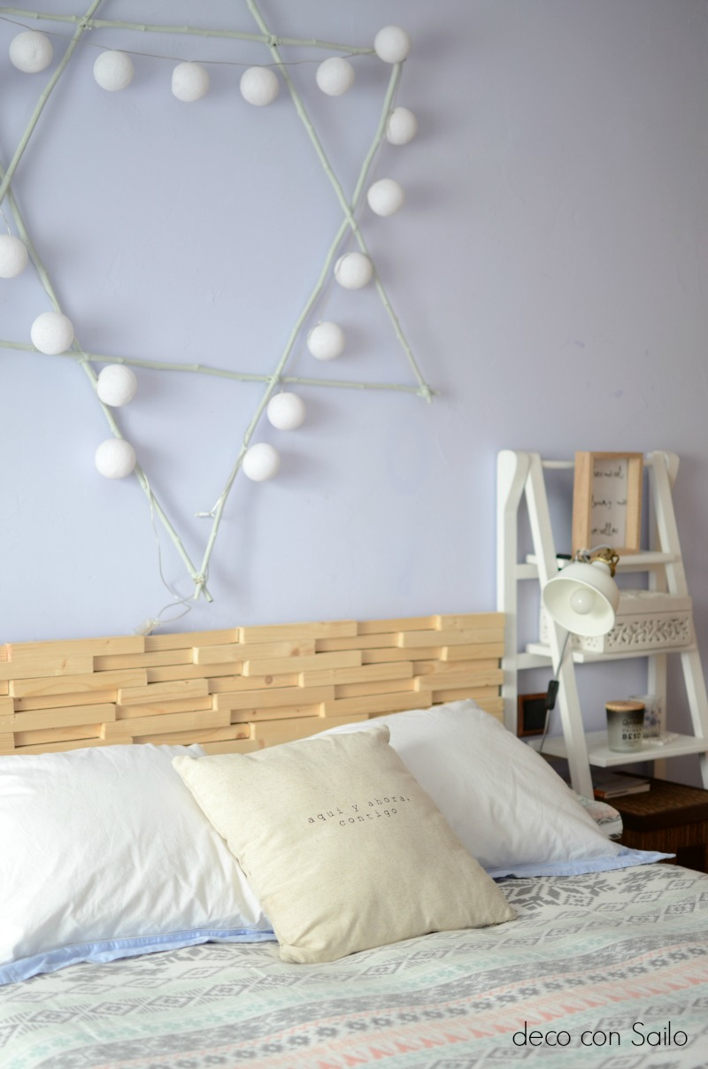 dormitorio deco con sailo