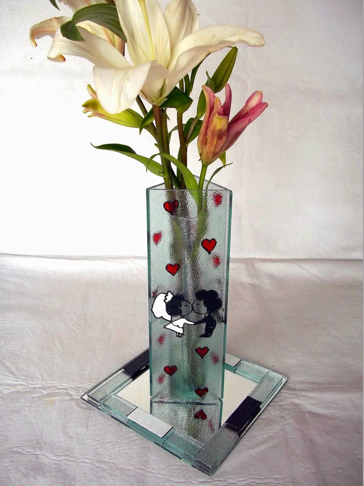 Entrevidrios floreros para boda - Fabrica de floreros de vidrio ...