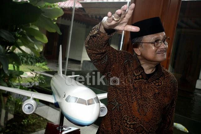 Setelah R80, BJ Habibie Siapkan Pesawat R100 Kapasitas 100 Penumpang