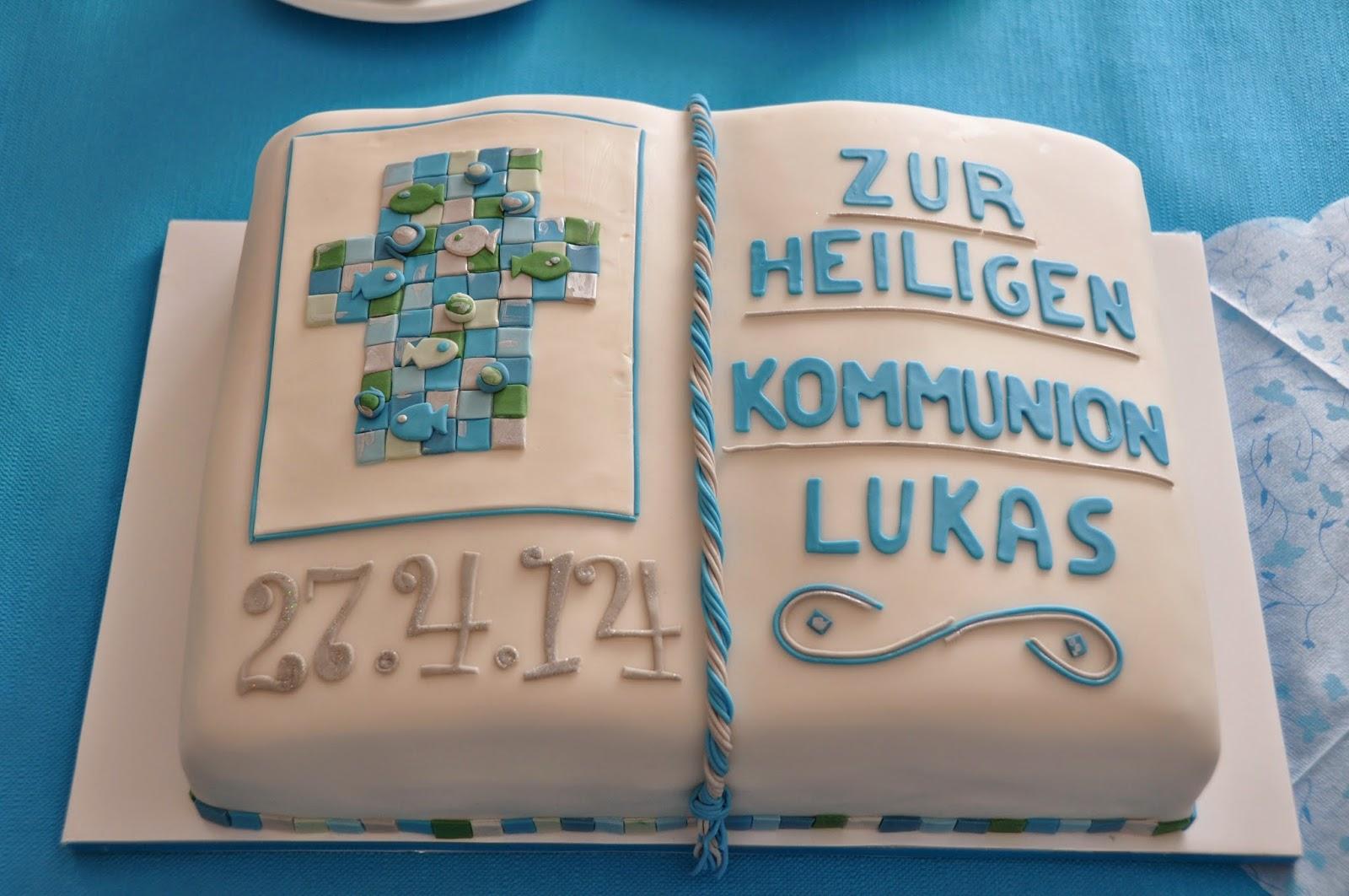 Cakez creations with heart kommunion for Kuchendeko foto