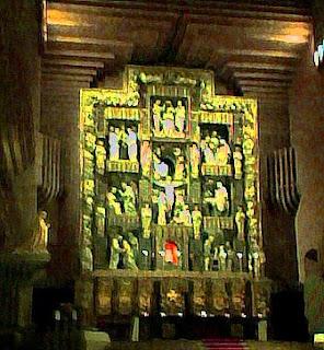 El Retablo del Santuario de Torreciudad (Somontano, Huesca, Aragón, España)
