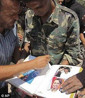 Ghadaffi Obsessed With Miss Condollezza Rice! 2