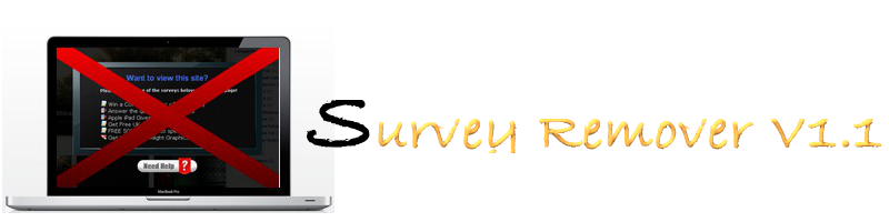 Remove survey now!