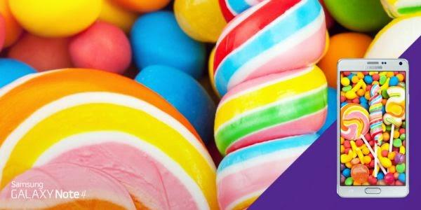 كيف تتبث تحديث lollipop 5.0 على هاتفك جلاكسي نوت 4 Galaxy note قبل الجميع  !