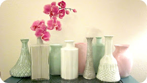 Painted Thrift &amp; Dollar Store Vase Tutorial