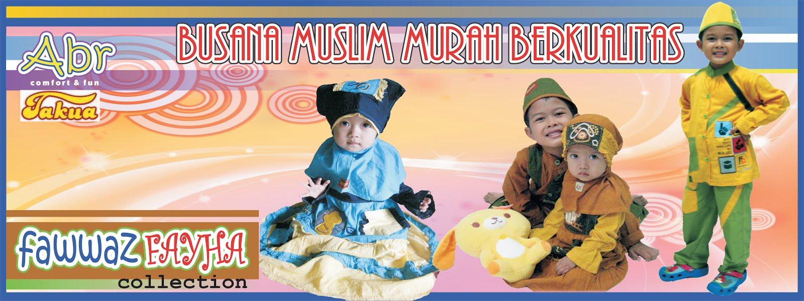 abr muslim anak ceria bergaya