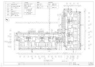建設工事 仮設計画図 平面図