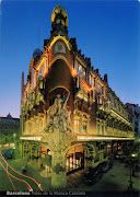 0633 SPAIN (Catalonia)Palau de la Música Catalana (UNESCO WHS)