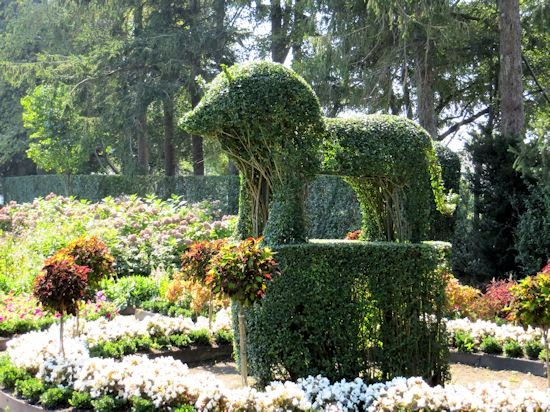 Green Animals Topiary Garden Rhode Island