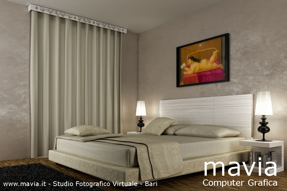 Awesome Camera Da Letto Con Parquet Contemporary - Idee Arredamento ...