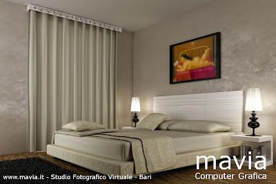 Arredamento di interni 04 01 2011 05 01 2011 - Tende classiche camera da letto ...