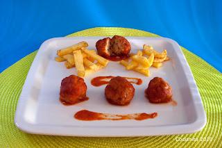 Albondigas+de+coliflor+con+salsa Albondigas de coliflor con salsa