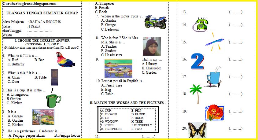 Soal Matematika Kelas 2 Sd Ktsp 2006 Newhairstylesformen2014 Com