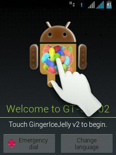 Cara Upgrade Android GingerIceJelly (Jelly Bean) Samsung Galaxy Y duos