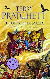 Terry Pratchett El color de la magia frases motivacion