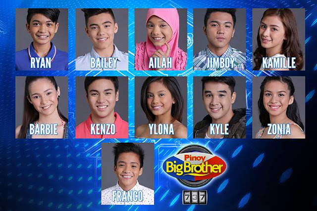 Pinoy Big Brother 737 Final list of Nominated