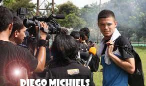 Foto Profil Diego Michiels | Pemain Inti Timnas U23
