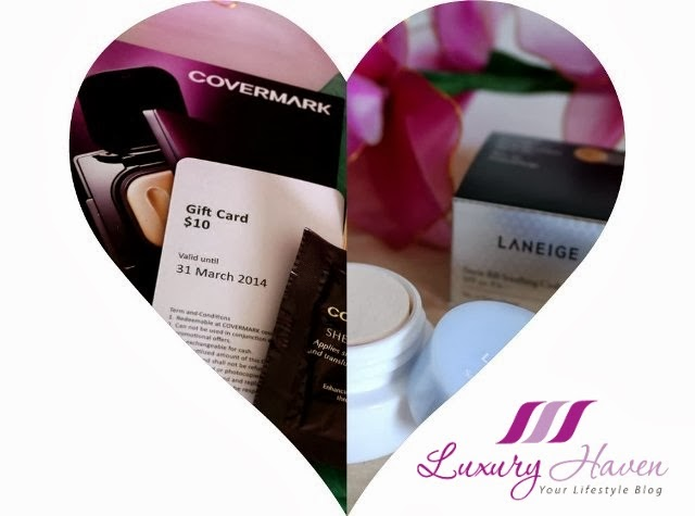 bellabox covermark laneige beauty reviews
