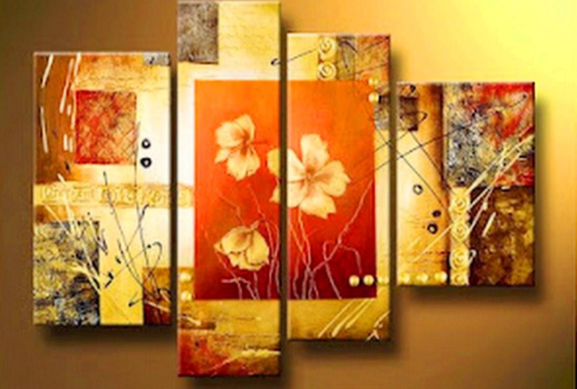 Pinturas cuadros lienzos galeria de cuadros modernos for Fotos de cuadros abstractos al oleo