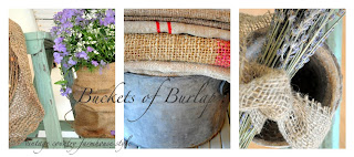 Buckets of Burlap