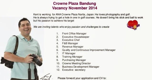 Lowongan Kerja Hhrma Bandung