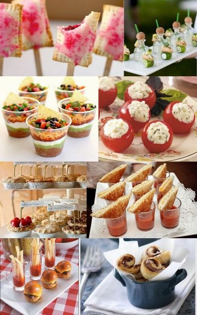 Little bird celebrations wedding and event planning for Canape suppliers