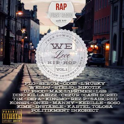 VA - We Love Hip-Hop (2015)