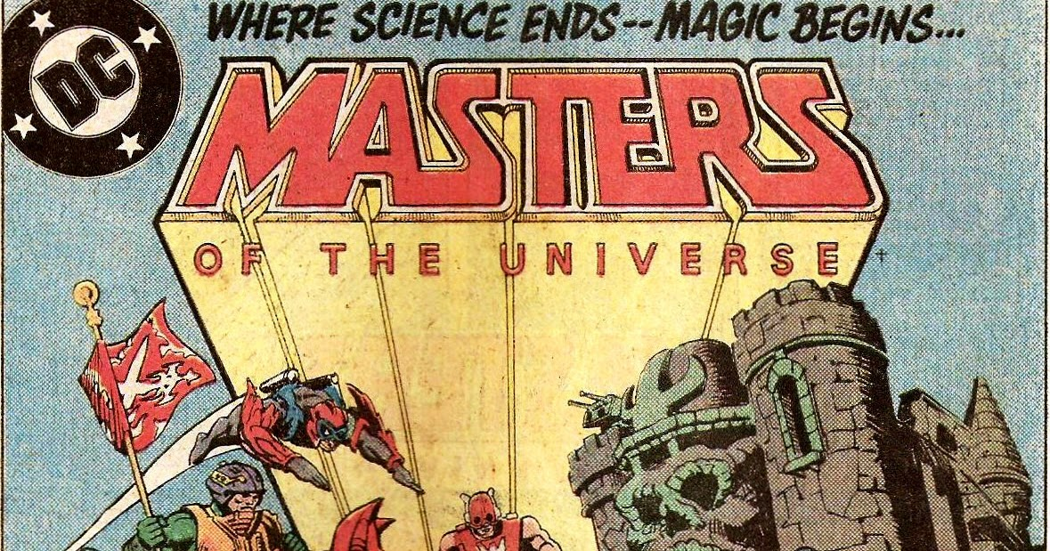 365 Comics...83: Masters of the Universe #5 (1987)