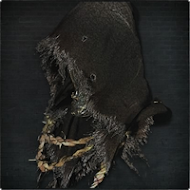 Black Hooded Iron Helm
