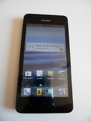 Frontal del Huawei Ascend G510